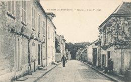 AL 873 / CPA  - ST NOM  LA BRETECHE   (78)  BOULEVARD DES PLANTES - St. Nom La Breteche