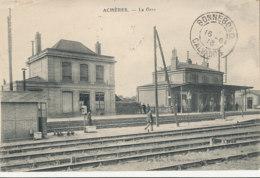 AL 885  / C P A    -  ACHERES    (78)   LA GARE - Acheres