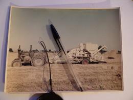Photo MACHINE AGRICOLE Faucheuse Batteuse Lieuse LANZ Tracteur VIERZON VENDEUVRE à NANGIS Agriculture Paysan Céréalier - Métiers