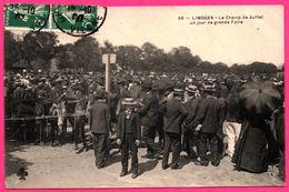 Limoges - Le Champ De Juillet - Un Jour De Grande Foire - Très Animée - 1907 - Limoges