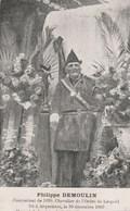 Philippe Demoulin. Combattant De 1830-Chevalier De L'ordre De Léopold. Né à Arquennes En 1909 - Patriotic