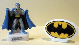 Fèves Brillantes - Batman Et Son Logo  - TM & DC Comics - Characters
