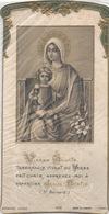 IMAGE PIEUSE Première Communion Marans 1924 Vierge Et Jésus Ed Bouasse Jeune - Images Religieuses