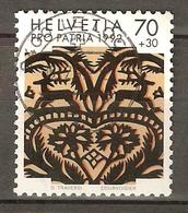Zu B 236 PRO PATRIA 1992 Obl. LE LOCLE Voir Description - Oblitérés
