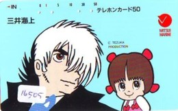 Télécarte Japon * MANGA *  BLACK JACK (16.505)  COMIC * ANIME  Japan PHONECARD CINEMA * FILM - Comics