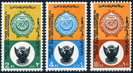 Set Of 3 MNH Stamps 25th Anniversary Arab League 1972 Sudan - Soudan (1954-...)
