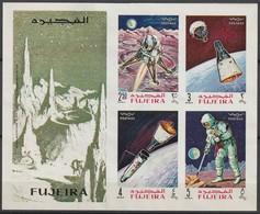 FUJEIRA - BLOC ** NON DENTELE (1969) Retrospective - ESPACE - - Space