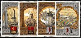 Sowjetunion  Mi. Nr. 4810-4813 MNH ** (5333) - 1923-1991 USSR