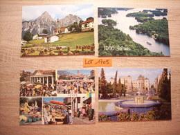 Lot De + De 2400 Cartes Postales ETRANGERES (Modernes), Tous Mélanges Divers Pays - France