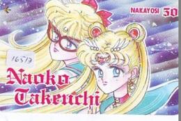 Télécarte Japon * MANGA *  NAOKO TAKEUCHI  (16.513)  COMIC * ANIME  Japan PHONECARD CINEMA * FILM - Comics
