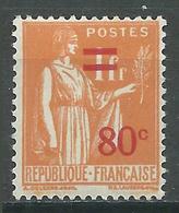 France YT N°359 Paix Surchargé Neuf ** - 1932-39 Paix