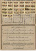 Deutschland Bayern Karte Invalidenversicherung Social Security 1956 - Deutschland