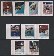 FUJEIRA - N°90+PA 27 ** NON  DENTELE (1969) Retrospective Surcharge 3 Types + APOLLO 10 - ESPACE - - Space
