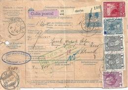 Paket Begleitadresse  Oberlaa - Buchs SG - Zug             1910 - 1850-1918 Impero
