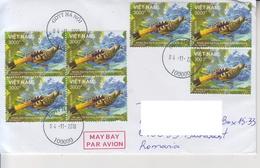 VIETNAM : BIRD On Cover Circulated To ROMANIA - Coucous, Touracos