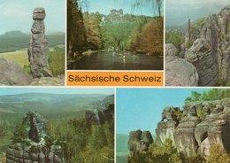 SACHSISCHE SCHWEIZ-BARBARINE- VIAGGIATA - Bastei (sächs. Schweiz)