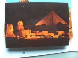 Egypte Egypt Giza Pyramids Of Giza Sound And Light - Gizeh