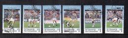 """St. Vincent & The Grenadine - 1994 - Lotto 6 Francobolli Tematica """" SPORT - Calcio - Juventus - Usati - (FDC13220) - St.Vincent E Grenadine"""