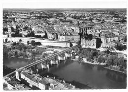 Montauban Vue Générale Aérienne Le Pont Vieux - Montauban