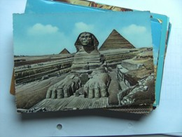 Egypte Egypt The Pyramids Of Giza Gizeh And Great Sphinx - Gizeh