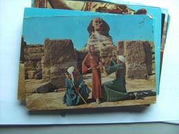 Egypte Egypt Sphinx And People - Sphynx