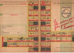 Le Jeu Des Dominos Philips Création Maurice Brunot - EFGE Valenciennes De 1955 - Autres