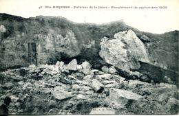 N°67268 -cpa Le Havre Sainte Adresse -falaise De La Hève-éboulement 1905- - Sainte Adresse