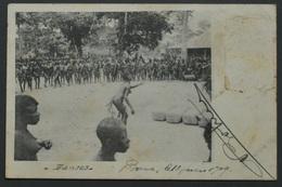 Congo Belge - Type Photo-carte - Série 1 - Copy Right N°8 - 1909 - Danses - Boma - - Belgisch-Congo - Varia