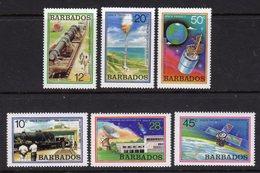 BARBADOS - 1979 SPACE PROJECT SET (6V) FINE MNH ** SG 639-644 - Barbados (1966-...)