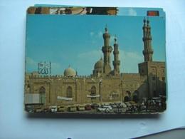 Egypte Egypt Cairo El Azhar Mosque And Cars - Caïro