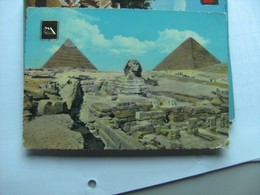 Egypte Egypt Giza Gizeh Sphinx And All Around - Gizeh