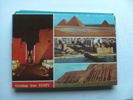 Egypte Egypt With Greetings - Egypte