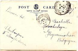 CP De Walham Green Fulham (02.08.1917) Pour Ghyverinchove Via Oostvleteren SM Postes Militaires - Guerre 14-18