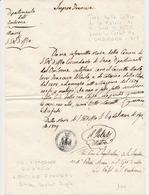 LAC DEPARTEMENTS CONQUIS - LAC - Pli De La Marne - S.GIO. D'ALTO Pour Le Préfet De L'Ombrone (dépt 114) Daté De 1808 - T - Marcophilie (Lettres)