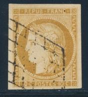 O EMISSION CERES 1849 - O - N°1 - Obl. Grille - TB - 1849-1850 Cérès