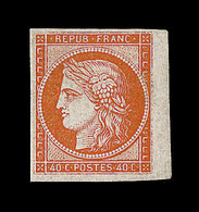 (*) EMISSION CERES 1849 - (*) - N°5 - BDF - TB - 1849-1850 Cérès