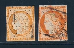 O EMISSION CERES 1849 - O - N°5, 5a - Défts - 1849-1850 Cérès