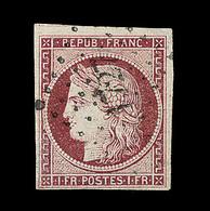 O EMISSION CERES 1849 - O - N°6 - Obl. PC 1727 - 3 Belles Marges - TB - 1849-1850 Cérès