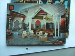 Marokko Morocco Maroc Hotel Rif Salon Arabe - Tanger