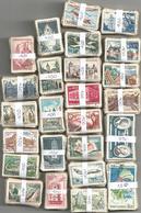 France - 2500 Timbres Grand Format (25 Bottes De 100) Pour étude Variétés Et Oblitérations - Stamps