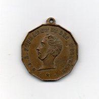 Francia - 1842 - Medaglia Morte Del Duca D'Orleans - Chapelle Ferdinand - Vedi Foto - (MW1947) - Royal / Of Nobility