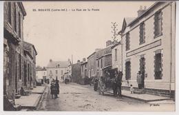 BOUAYE (44) : RUE DE LA POSTE - POSTES TELEGRAPHES TELEPHONES BOUAYE - 2 SCANS - - Bouaye
