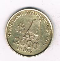 2000 DONG 2003 VIETNAM /8307/ - Viêt-Nam