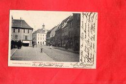 Carte Postale - HERICOURT - D70 - L'Hôtel De Ville En 1909 - France