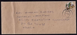 Ca0199 ZAMBIA 2007, Bird Stamp On Kitwe Cover To Ndola - Zambie (1965-...)