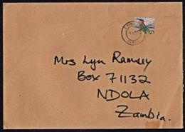 Ca0202 ZAMBIA 2005, Bird Stamp On Chingola Cover To Ndola - Zambia (1965-...)