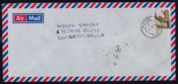 Ca0209 ZAMBIA 2003, Bird Surcharge Stamp On Kabwe Cover To Ndola - Zambia (1965-...)