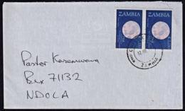 Cb5108 ZAMBIA 2011,  Franciscans Stamps On Chisekesi Cover To Ndola - Zambia (1965-...)