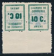 ** TIMBRES DE GREVE - ** - N°1 - Paire - Tête Bêche - BDF - TB - Strike Stamps