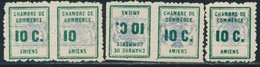 **/* TIMBRES DE GREVE - **/* - N°1, 1a, 1b - TB - Strike Stamps